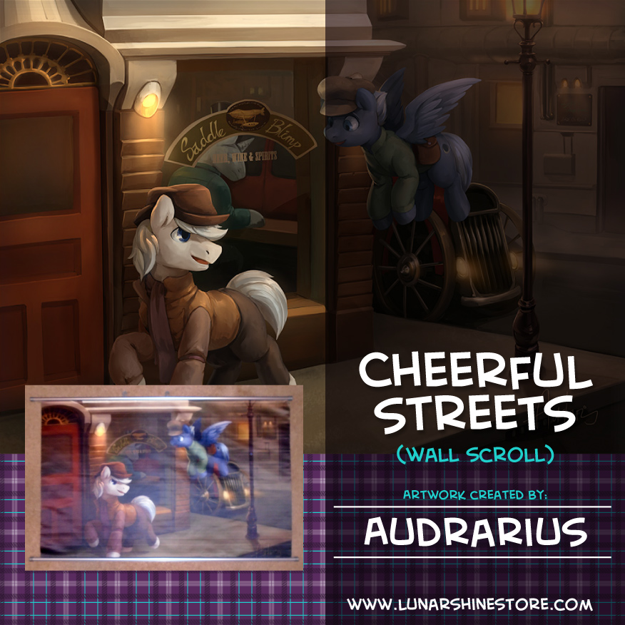 Cheerful Streets by Audrarius