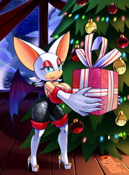 Rouge's Christmas Present