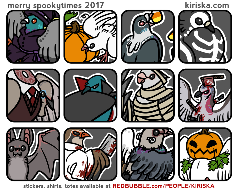 Spooky Bird Party 2017