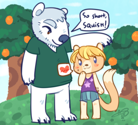 acnl: Bears and Ferrets