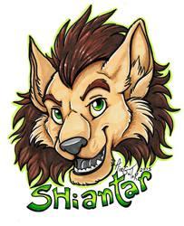 Shiantar Teeny Badge