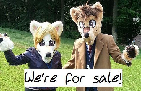 Featured image: Doctor Who wolves for sale!