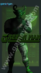 Greenmen – 3D character by GameYan 3D Production Animation Studio