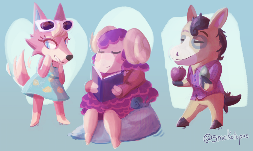 More Animal Crossing Villagers!