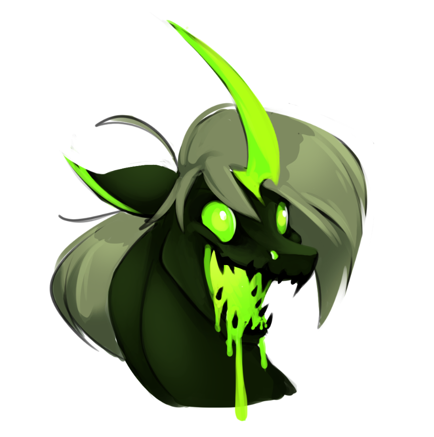 MLP | Drippy Changeling | FEARDAKEZ