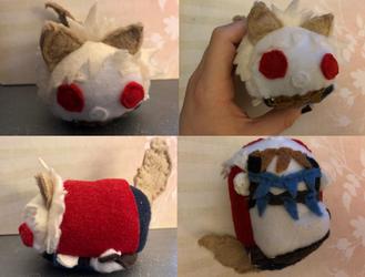 My Hero Academia Wolf Katsuki Fantasy Au Stacking Plush Made For Myself