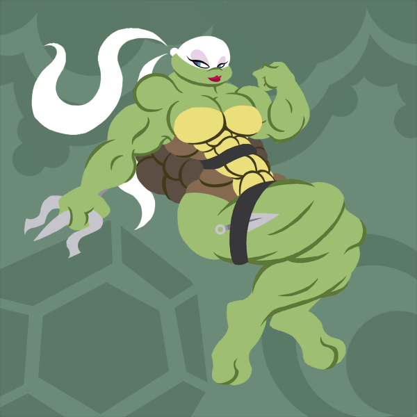 Venus - The Mutant Muscle Ninja Turtle Gal