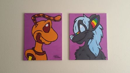 Couples Painting Set for Up and Luna