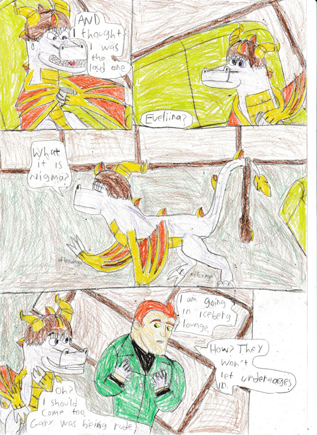 Legend of dragon: Bird and dragon:Pg 11