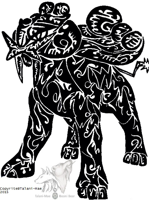 Tribal Raikou, God of Thunder