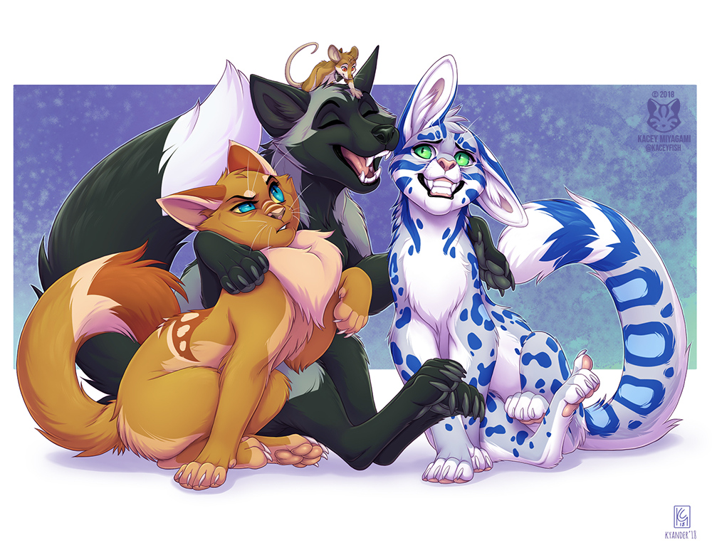The Four (Collab with Kyander)