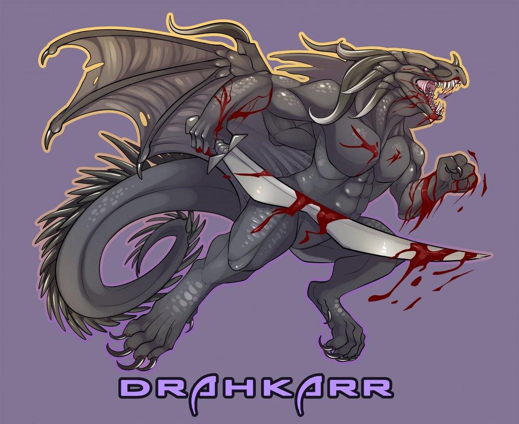 Drahkarr Badge!