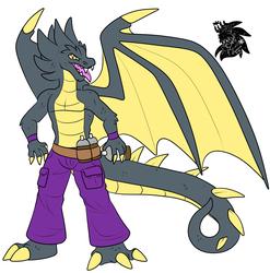 Dragon Wire +Flatcolored Commission+