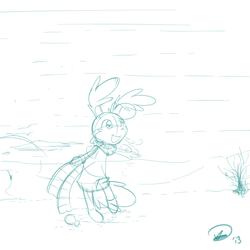 Sketch - Tufty~