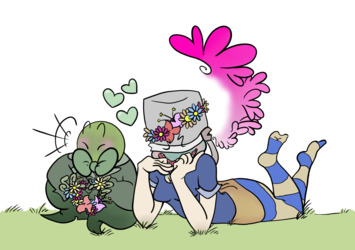Flower crowns for me'lady!