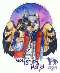 Badge: Wolfgryph McFly