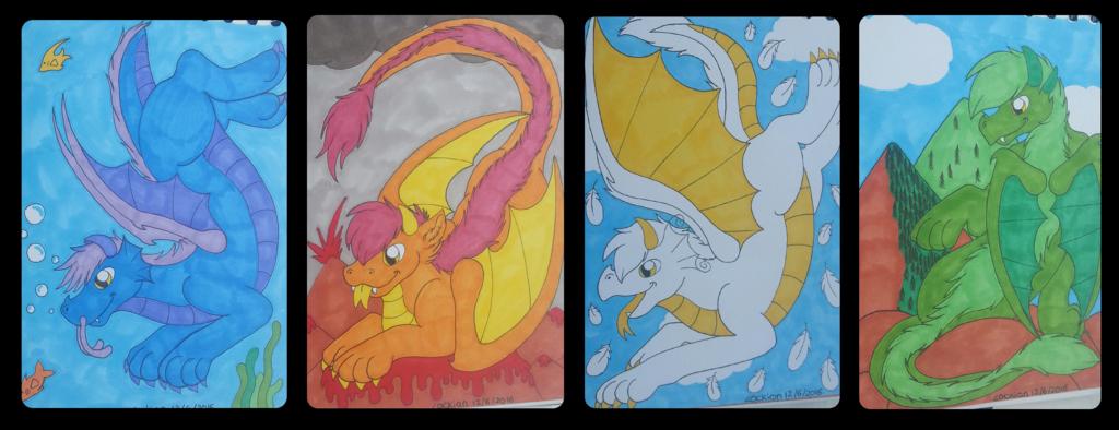 Elemental Dragons
