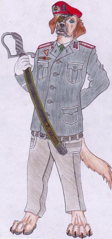 Mishya's Alternate Uniform 1 - NVA Fallschirmjager