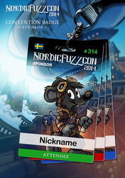 NFC 2014 Badges : Sponsor [2/4]