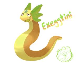 Pokemon Fusion - Exeggtini