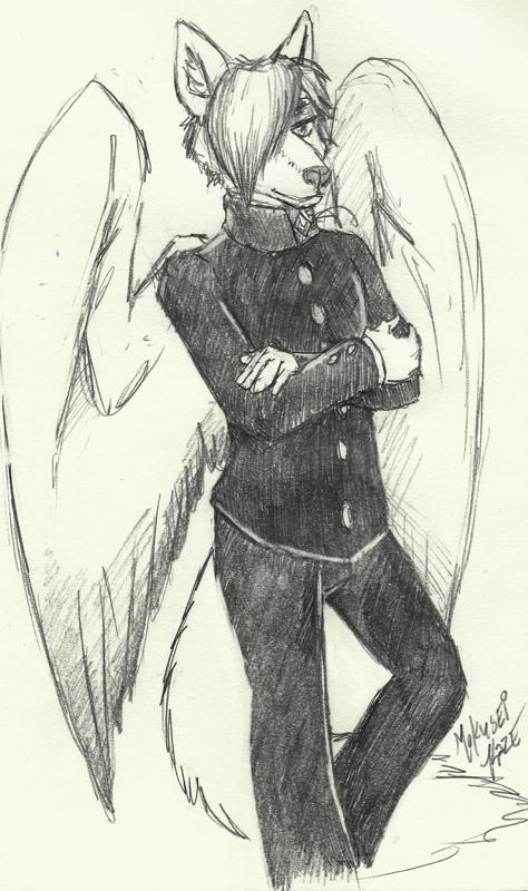 Warm Up Sketch Commission: Firebolt