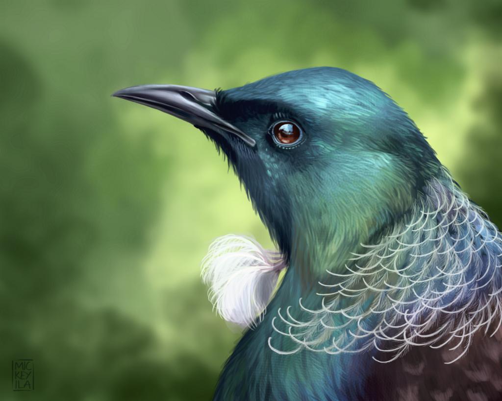 Portrait of a Tui