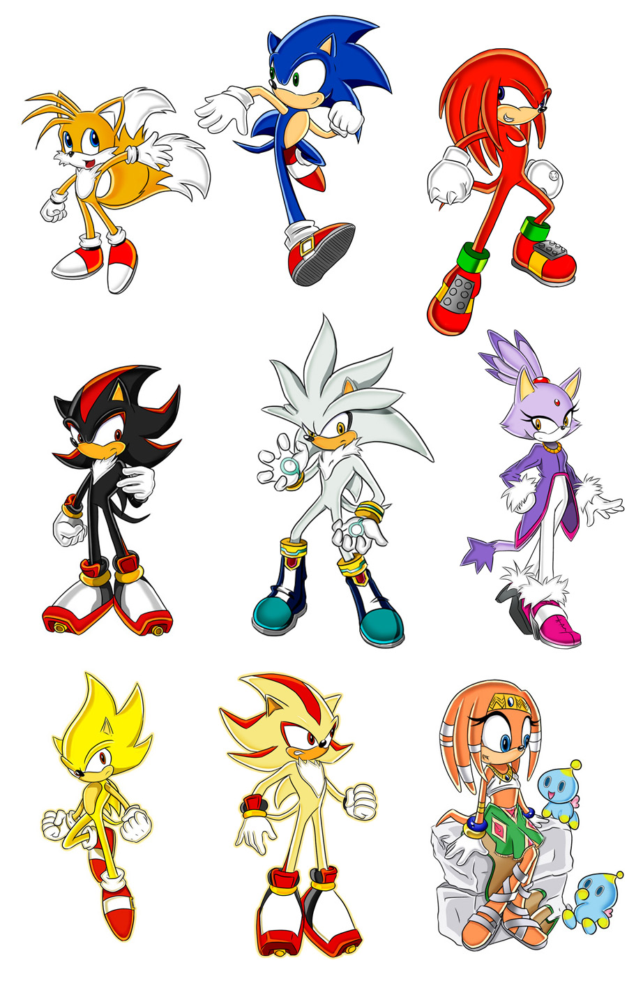 sonic the hedgehog characters weasyl