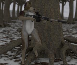 It's rabbit season