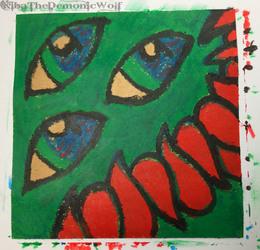 Marabu Crayons Grinning Monster
