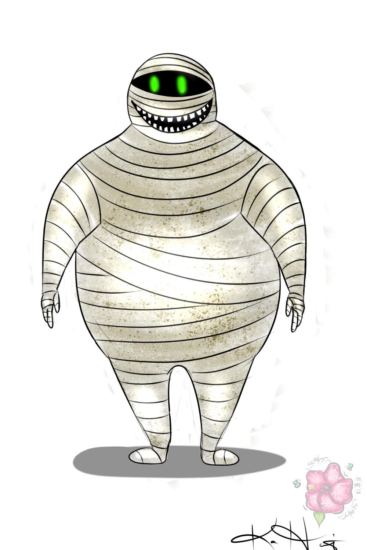 Drawlloween '20 - #2 Mummy