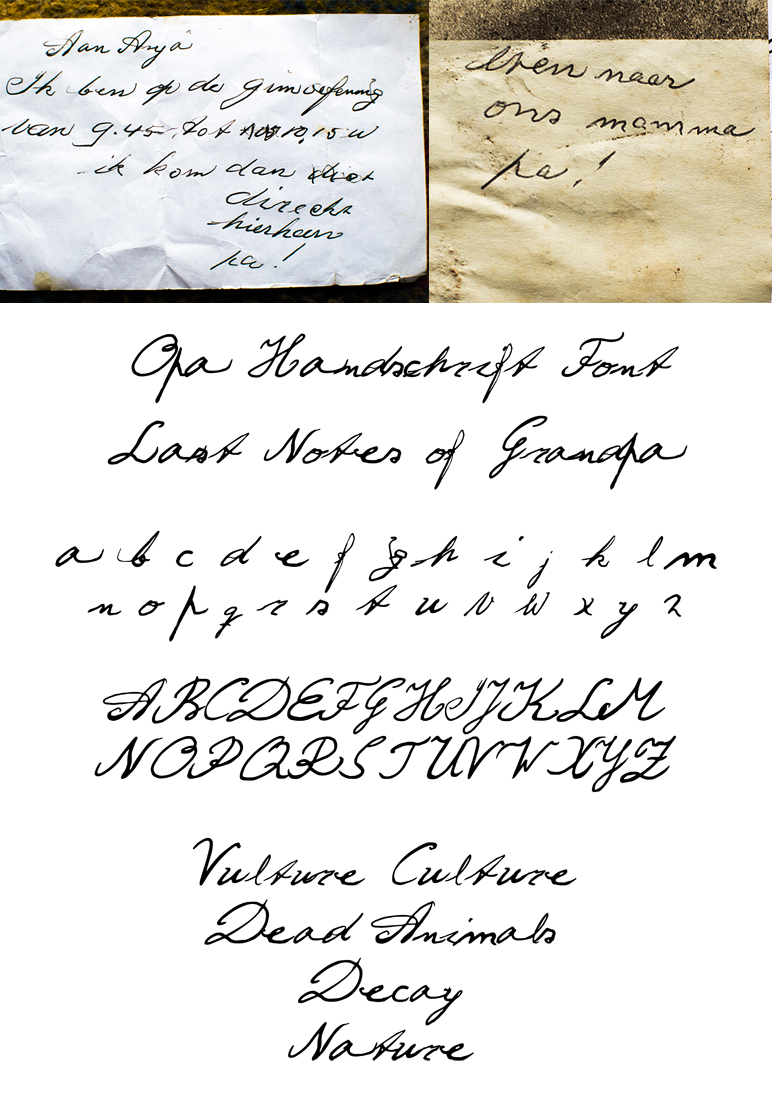 Last Notes of Grandpa