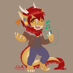 Commission: TheRetto chibi