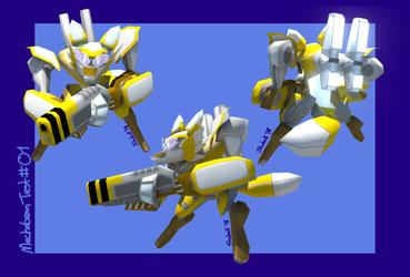 {3D} MechaBean Prototype