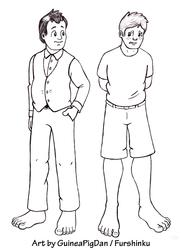 Human Peter and James
