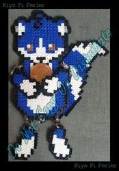Kiyo Pi Mini-Bead Ragdoll (Original Pattern)