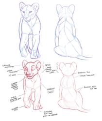 Real lion cubs vs. TLK style cubs