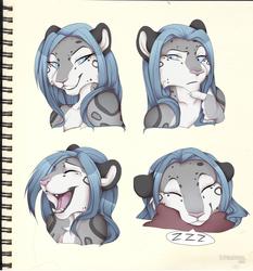 Yuna faces