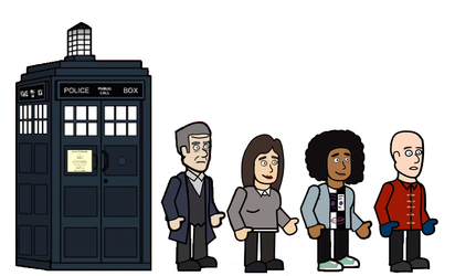 The 12th doctor and his friends
