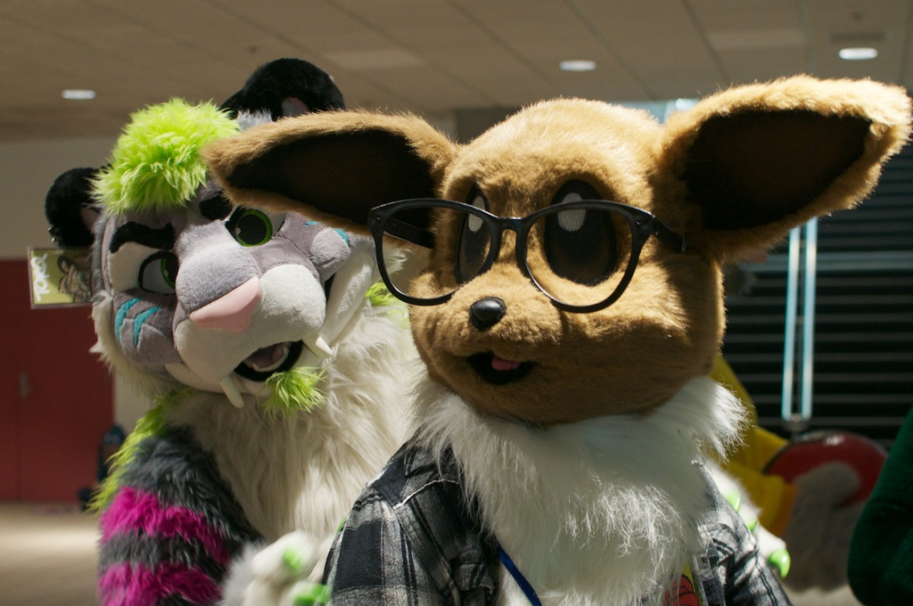 Torq and Hipster Eevee @ Fanime 2014