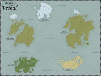 Map of Veshal