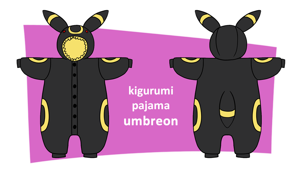 Kigurumi Pajama Design Umbreon