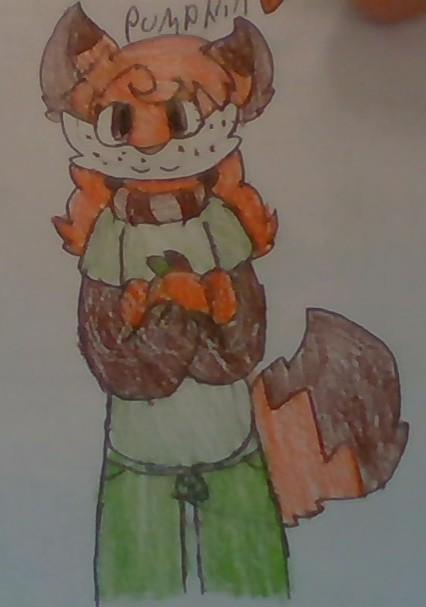 Pumpkin with a pumpkin!