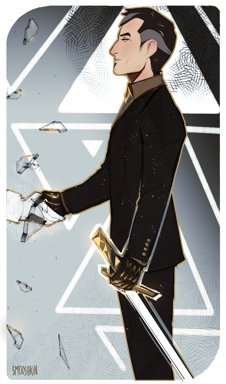 Most recent image: king of swords