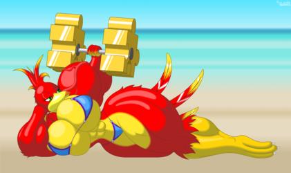 Kazooie, The Mightiest Breegul.