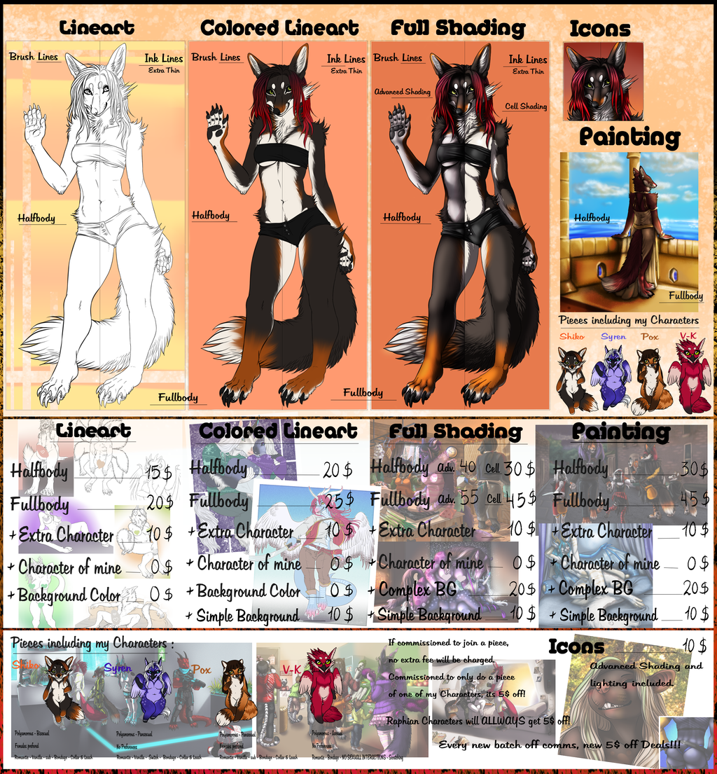 .:Official PriceSheet 2016:.