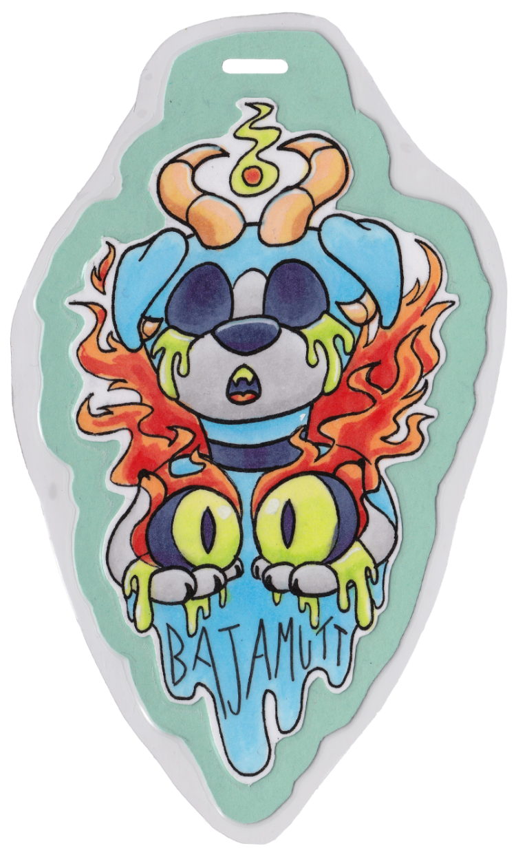 BajaMutt YCH Candygore Badge