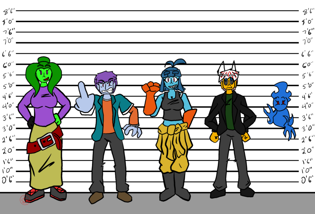 Allie's Group Height Chart