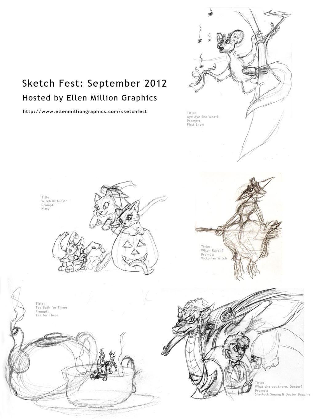 September Sketch Fest Collection 1