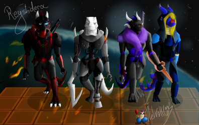 Mass Effect Group Picture