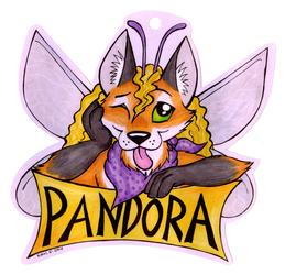 Cutout Badge - Pandora